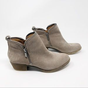 Lucky Brand Zipper Booties